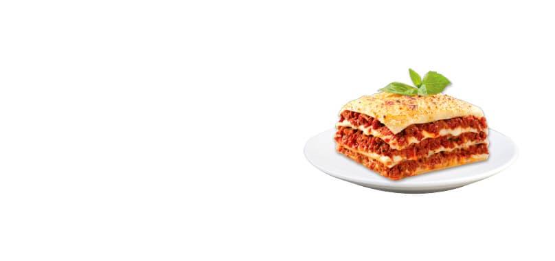 Lasagna Marinara Con Carne