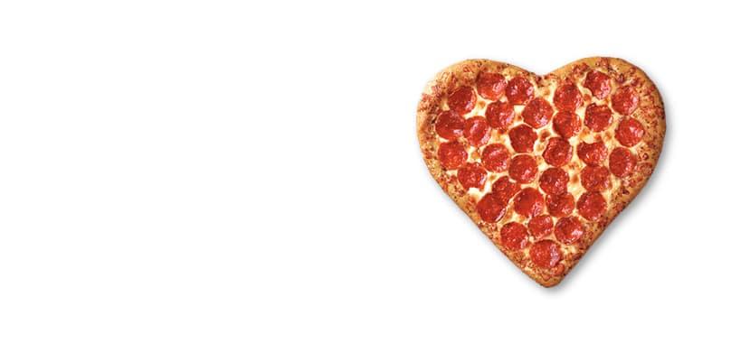 Pizza Corazón Jamón