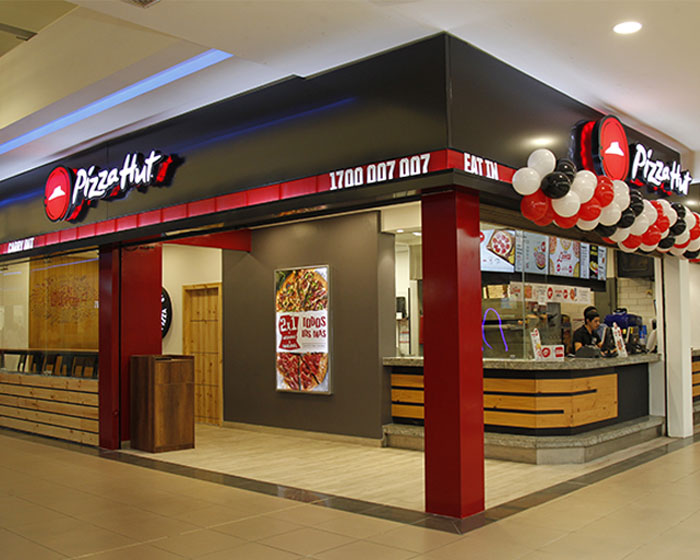 Establecimiento Pizza Hut Libertad