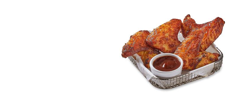 Alitas de pollo (4 uds.)