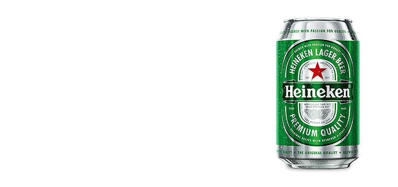 Lata Cerveza Heineken (33cl)
