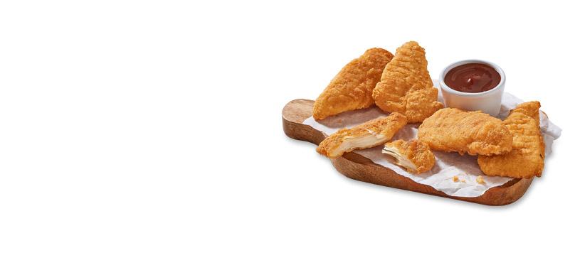 Delicias de pollo (5 uds)