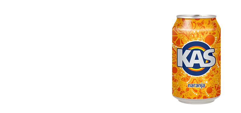 Lata Kas Naranja (33cl)