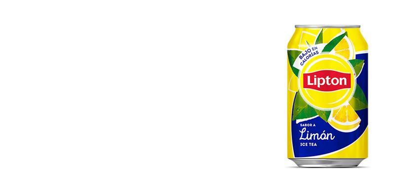 Lata Lipton Limón (33cl)